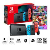 Consola Nintendo Switch Bateria Extendida + Mario Kart 8