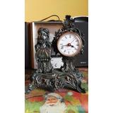 Lae Antiguo Reloj De Mesa Modelo Frances De Época Funciona