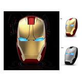 Mouse Gamer Iron Man 1600 Dpì Inalambrico Diseño Original
