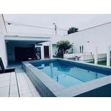 Alquiler Casa De Playa Amoblada 100% Privada. Sur Chico..!!