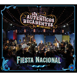 Cd+dvd Los Auténticos Decadentes - Fiesta Nacional Mtv