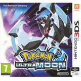 Pokemon Ultra Moon Ultra Luna Nintendo 3ds Nuevo