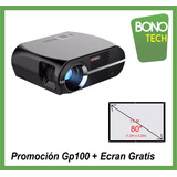 Proyector Multimedia Gp100 Full Hd 3500 Lum.190pul.parlante