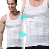 Bvd Camiseta Reductora Faja De Alta Compresión 100% Original