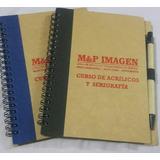 Agendas Y Cuaderno De Notas Con Logo