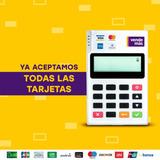 Pos Portátil Vendemas - Pago Único - Sin Alquileres - Visa