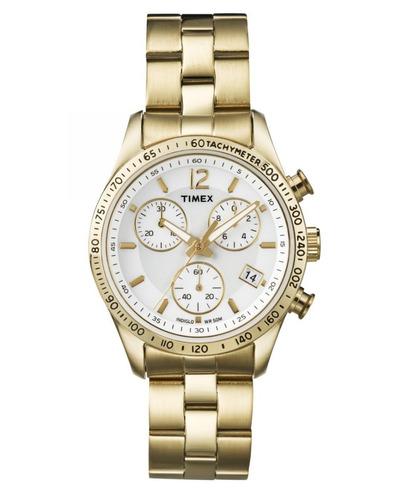 bd392bd3fcbb Reloj Timex Mujer Modelo Ameritus Correa Acero Nuevo