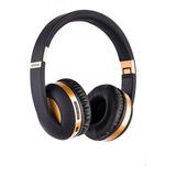 Audífono Ext On Ear Bluetooth Metálico Dorado