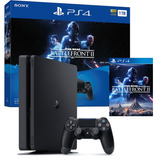 Ps4 Slim Play Station 4 Slim 1tb + Star Wars Battlefront 2