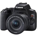 Camara Canon Eos Rebel Sl3 C/ Lente Ef S18-55 Is Stm 4k
