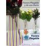 3 Floreros De Plastico Armables (grande, Mediano,chico)