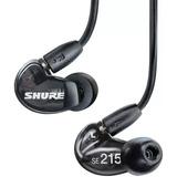 Shure Se215 Auriculares Audifonos Total Aislamiento D Sonido