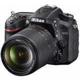 Nueva Cámara Nikon D7200 24.2mp Lente 18-140mm Vr