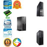Cpu Core I5 3ra Tercera 4gb 500gb Hp Dell Lenovo Slim Torre