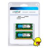 Memoria Ram Crucial Para Mac 16gb 2x8gb Ddr3l 1600 Sodimm