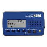 Metronomo Korg Ma-1 Azul/negro Envío + Garantía L.m