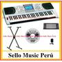 Órgano Piano Electrónico Vozzex ,entrada Usb,+delivery