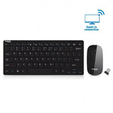 Teclado Y Mouse Inalámbrico Smart Tv Wireless Pc Laptop