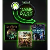Xbox Game Pass 1 Mes, Hasta 2 Meses Oferta