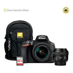 Nikon Oficial D5600 Kit 18-55 Vrii, Yn50 Y Mochila