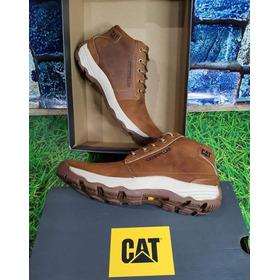 Zapatos Cat 100% Cuero Importadas Hombre-zapatillas Actuales