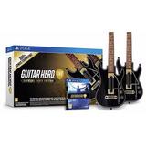 Guitar Hero Live Ps4 Supreme Party Edition 2 Guitarras