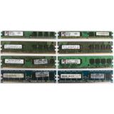 Memorias Ddr2 1gb 1 Giga Bus 800 Como Nuevas A S/.6.90 C/u