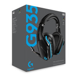 P Audífono Gamer Logitech G935 Wireless 7.1 Rgb Lightsync