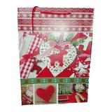 Bolsa De Regalo Navideña 44cm Regalo Navidad Amor Decoracion