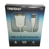 Cable Convertidor Rs-232 A Usb Tu-s9 Trendnet Regalo Navidad