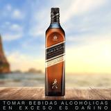 Whisky Johnnie Walker Etiqueta Double Black Label 750 Ml
