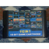 Remate Final Cartucho De Sega Genesis:retroad 112 Juegos