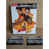 Ant Man And The Wasp Blu Ray Gallery Book 4k Pelicula Marvel