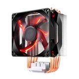 Cooler Procesador Cooler Master Hyper H410r Led Rojo