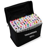 Marcadores Touch Five 80 Uni., Touch New, Diseño Arquitectur