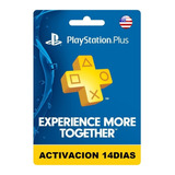 Playstation Plus 14 Dias Usa Ps4 Neogamez