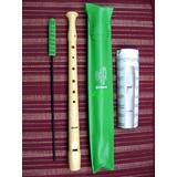 Flauta Dulce Hohner Melody Blockflöte-school-made In Germany