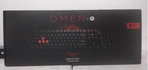 Teclado Gamer Hp Omen 1100 Retro-iluminado