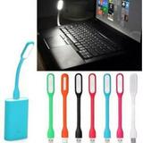 Lampara Usb De Luz Led Blanca Laptop Mac Computadora X 50 Pc