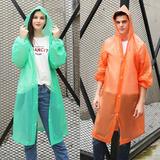 Poncho Capa Impermeable Material Eva Mayor Protección Lluvia