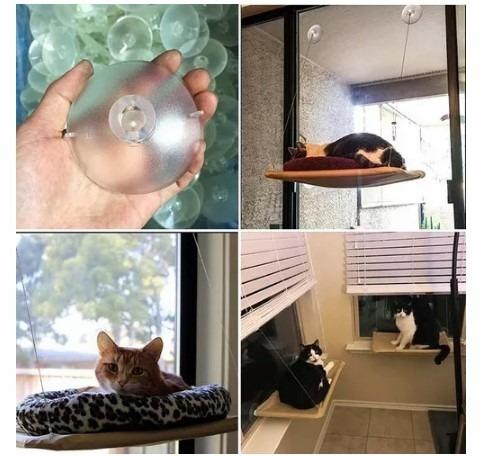 Cama colgante hamaca lavable para gato para la ventana s - Cambiar ventanas precio ...