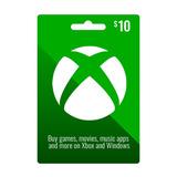 800 Puntos Microsoft O Gift Card 10 Usd  Xbox Live 360 Y One