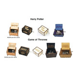 Caja Musical Game Of Thrones, Harry Potter, Star Wars, Etc.