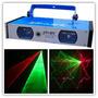 Laser Rojo Verde Dos Cabezas Discoteca Luces Sicodelicas