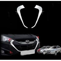 Hyundai Tucson 2010 - 2013 Bigote Frontal Cromado