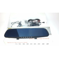 Espejo Retrovisor Doble Camara Full Hd 4.3 Grabador Dvr
