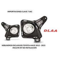 Neblineros Exclusivos Toyota Hiace 2012 - 2015