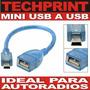 Cable Adaptador Audio Mini Usb 5 Pines Usb Hembra Autoradio