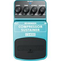 Pedal Compresor / Sustainer Cs400 Behringer Nuevo Efecto