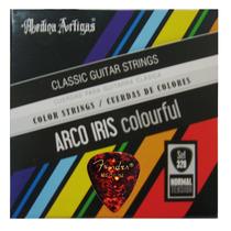 Cuerdas.arco.iris/medina Artigas/nylon/colores/p.guit.ac+pua